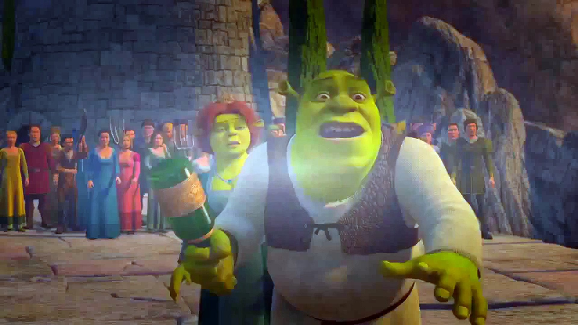 Shrek 3 Cartoon English Version Shrek The Third 2007 Full For Kids Video Dailymotion
