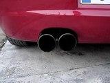 Seat Leon FR sport TDI racing exhaust 2 x 101 mm loud sound HQ