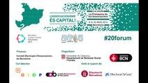 XX Fòrum: Lluís Torrens sobre el treball conjunt entre governs i associacions