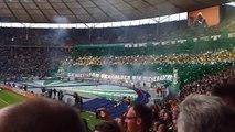 DFB Pokal Finale 2015 BVB-Ultras