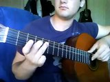 ferbuni guitar - no volver by gipsy kings (gipsy kings kurdish guitar tutorial)