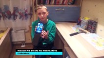 Idiot Kid Breaks Phone Like An Idiot | What's Trending Now