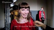 Claire Barrow Autumn/Winter 2015-16 - Backstage&Interview | LONDON FASHION WEEK | FashionTV Japan ファッションTV ジャパン
