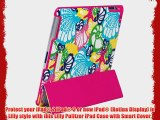 Lilly Pulitzer iPad Case with Smart Cover - Chiquita Bonita