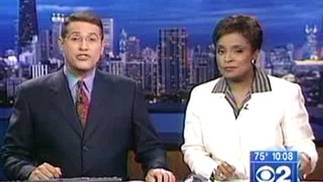 WBBM CBS 2 News 10:00 PM Bumper / Talent Intro - 7/25/2003