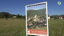 Le Poët Laval. Un des plus beaux villages de France