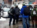 Journée internationale contre la brutalité policière Montréal 2008