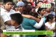 Asesinan a joven de 9 balazos cerca a su vivienda - Trujillo