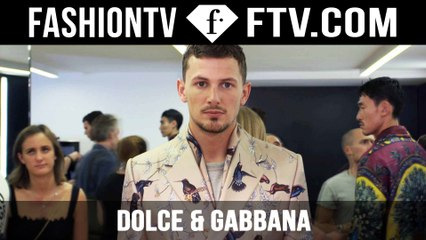 Dolce & Gabbana Show Backstage Spring/Summer 2016 | Milan Collections: Men | FashionTV