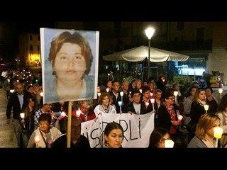 Guerrina Piscaglia un anno dopo, 150 persone alla fiaccolata di Novafeltria