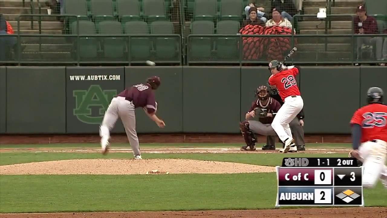 AUHD Game Recap: Baseball vs. College of Charleston