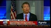 Response On Obama's Syria Speech From Gop Senator Rand Paul
