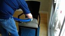 Nettoyage de chaise, nettoyer les chaises en tissu