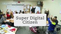 Lesson in Action: Super Digital Citizen
