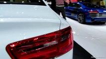 2014 Audi A6 TDI Quattro S-Line - Exterior and Interior Walkaround - 2014 Detroit Auto Show