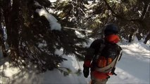 Powder Paradise: GoPro Hero 3 White Edition: Skiing and Snowboarding on fresh powder in the Alps