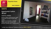 A vendre - appartement - NANTES (44000) - 2 pièces - 30m²
