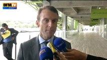 """Macron explique son """"grand scepticisme"""" sur l'offre de SFR sur Bouygues"""