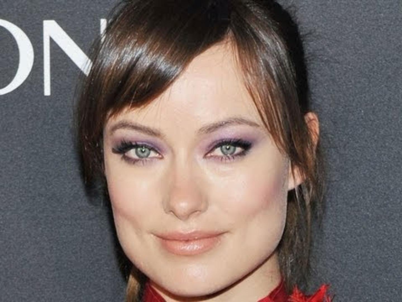 Olivia Wilde Models Eye Makeup From
