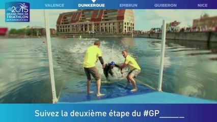 #GPFFTRI 2015 - 2ème étape du Grand Prix de Triathlon pour la recherche sur le cancer - Dunkerque - 28 juin 2015