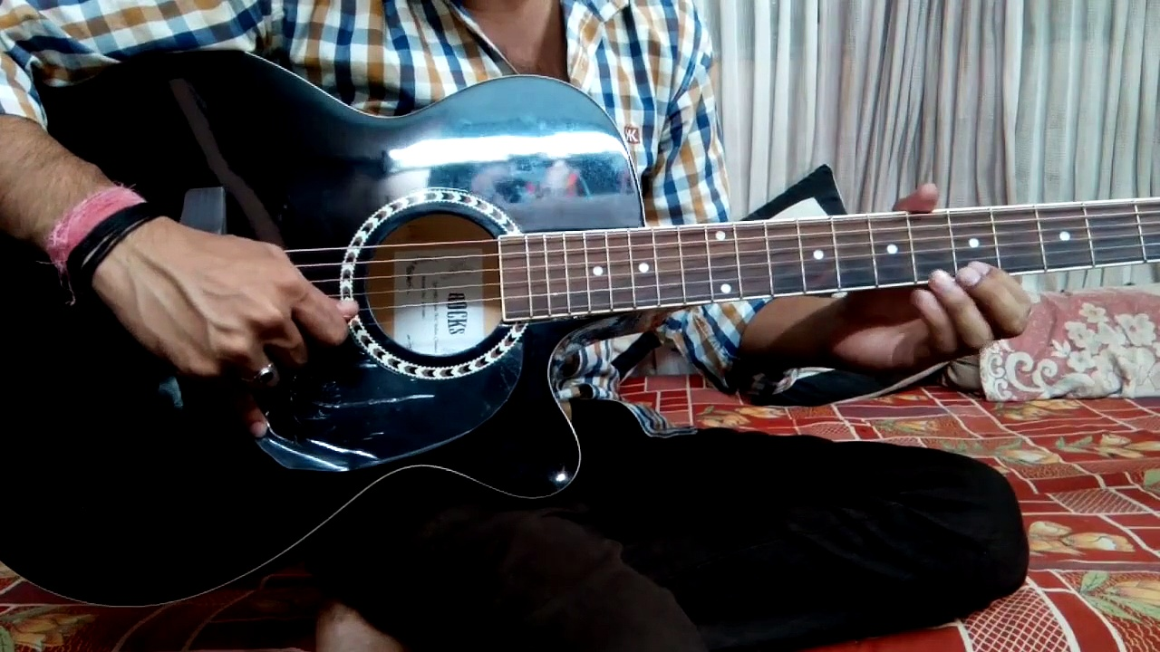 Guitar tabs //Aashiqi 2 // love Theme // Tutorial