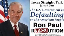 Ron Paul: US Gov't Defaulting on the American People