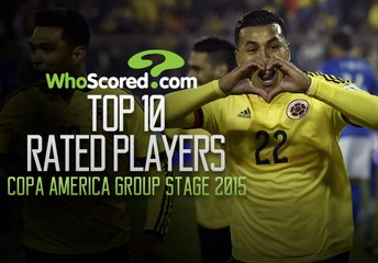 Top 10 players at Copa America