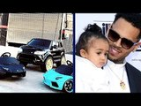 Chris Brown GIFTED To Royalty 2 Lamborghini & Range Rover