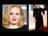 Adele in Giorgio Armani at 2012 Grammy Awards