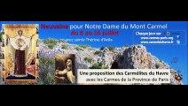 Neuvaine à Notre Dame du Mont-Carmel (8-16 juillet 2015)