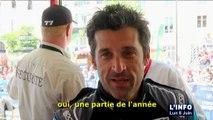24 heures du Mans : Interview de Patrick Dempsey