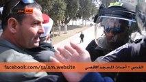 اقتحام الشرطة والجيش الاسرائيلي للمسجد الاقصى 7-2-2014