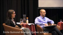 Débat électoral organisé par l'AÉLIÉS (université Laval) (extraits)