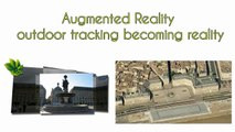 Augmented Reality outdoor tracking becoming reality