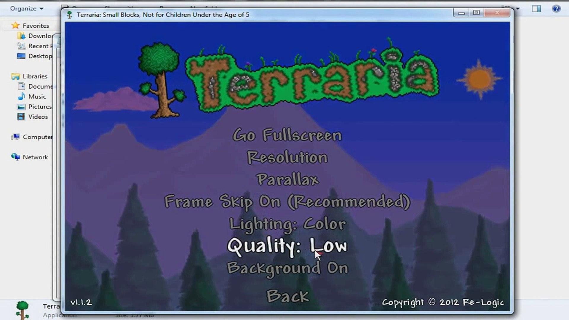 Terraria: How to get rid of Lag/Speed up (TechManiiac)