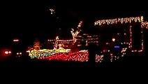 Jingle bells by Crazy Frog (animated christmas lights dancing lights)
