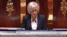 TRAVAUX ASSEMBLEE 14E LEGISLATURE : Discussion dans l'hémicycle du protocole sur la coopération judiciaire entre la France et le Maroc