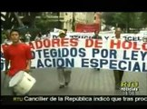 Ex trabajadores de Cemento exigen pago de utilidades y liquidaciones tras despidos intempestivos