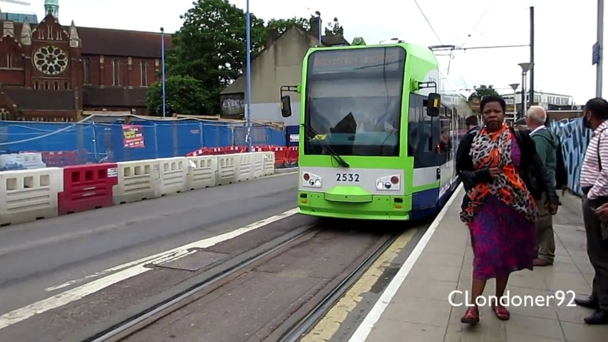 Tramlink Line 2 West Croydon to East Croydon