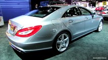 2014 Mercedes-Benz CLS-Class CLS550 - Exterior and Interior Walkaround - 2013 LA Auto Show