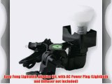 Gary Fong Lightbulb Adapter Kit with AC Power Plug (Lightbulb and Diffuser not included)