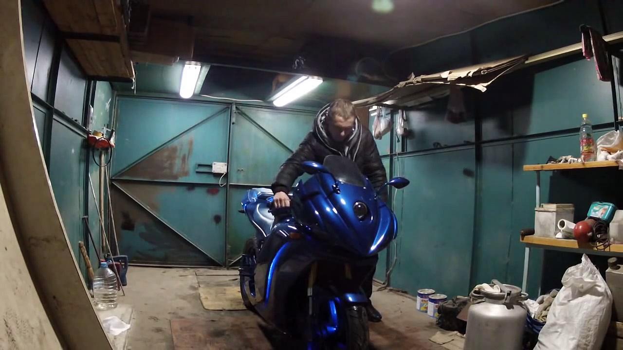 Hyosung GT250 CUSTOM tuning moto