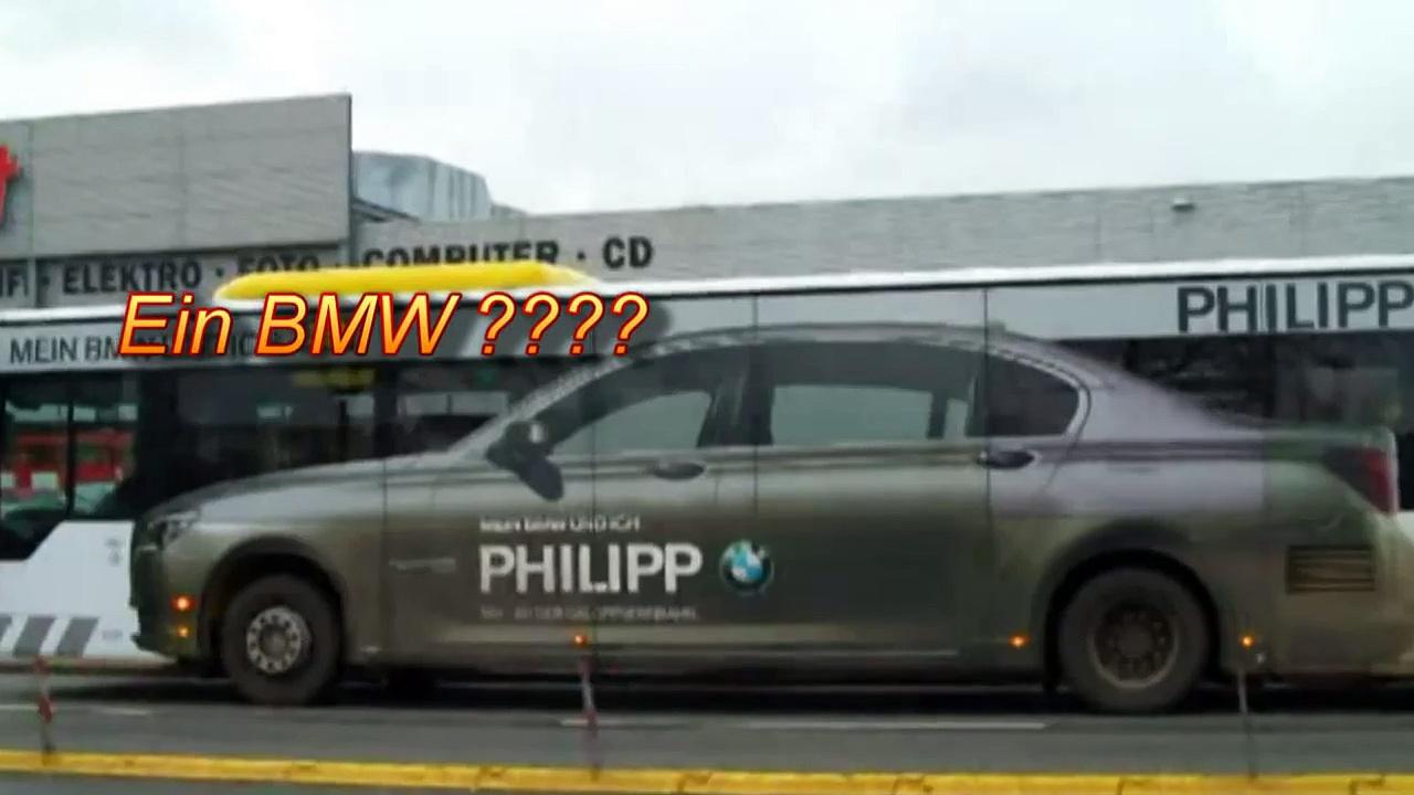 BMW oder Bus? Lustige BMW-Werbung Funny BMW Advert
