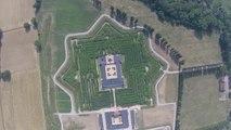 Na Itália, drone da Ruptly filma maior labirinto do mundo!
