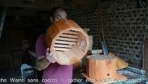 La ruche Warré d'Olivier Duprez à 12 côtés - l'apiculture naturelle sans cadres - rucher école