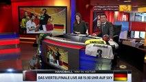 Wenn nicht jetzt wann dann  #Sky #Sport News #Handball WM 2015 #Hoehner singen mit Christopher Lymbe