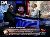 Entrevista en CNN Chile al oceanógrafo Dr. Renato Quiñones en torno a la crisis pesquera. 1/3