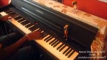 Naruto Shippuden Opening 15: Guren- Piano