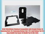 Black VESA Kit with Desktop Stand for Google Nexus 10 Samsung Galaxy Note 10.1 Samsung Galaxy