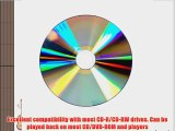 Smart Buy Shiny Silver Top CD-R 200 Pack 700mb 52x Blank Recordable Discs 200 Disc 200pk